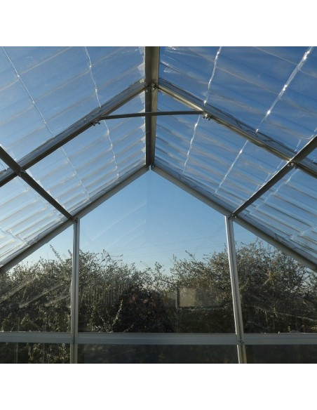SERRE CRISTAL 4,75M² toit en tuiles transparentes