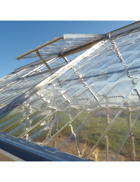 Lucarne - Serre de jardin en aluminium
