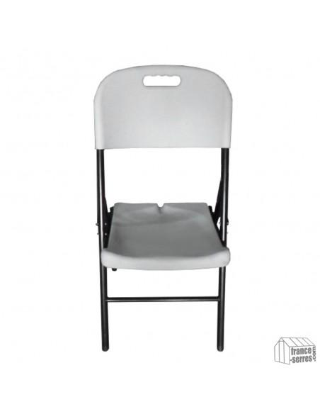 L'assise et le dossier ergonomiques de nos chaises pliantes épousent parfaitement le corps pour un confort optimal