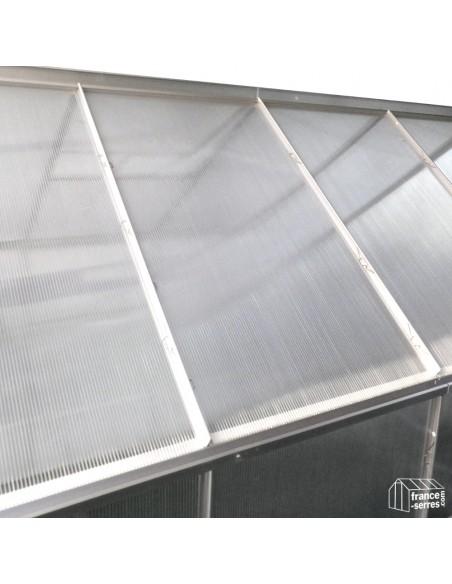 Panneaux en polycarbonate alvéolaire pour toit, côtés, lucarnes et façades
