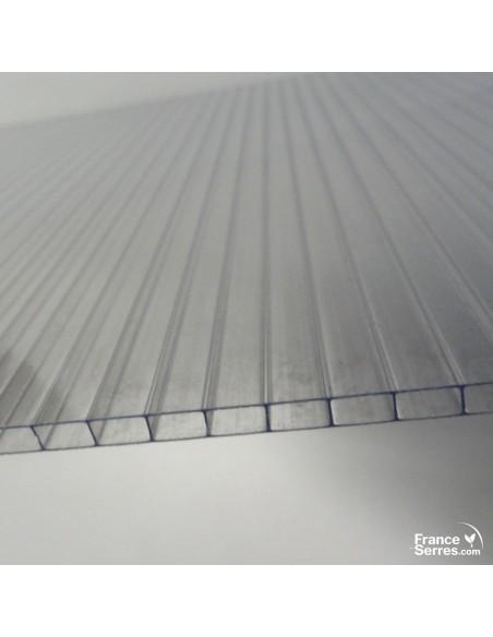 Panneaux en polycarbonate alvéolaire 4mm de 700g/m² de densité