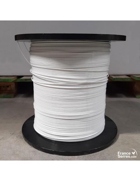 Le fil Deltex Pro pour maillage de serre tunnel ou palissage de plants