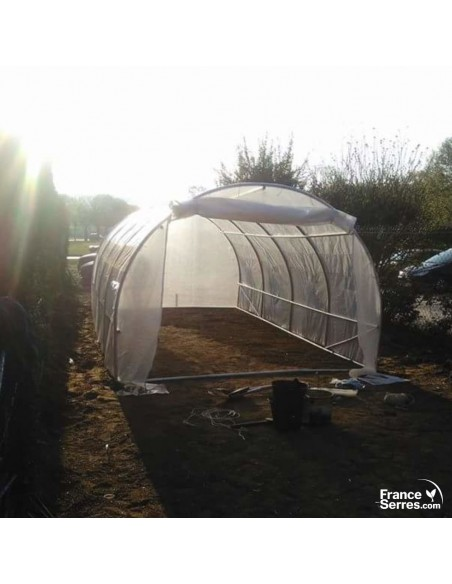 Tunnel potager 18m²