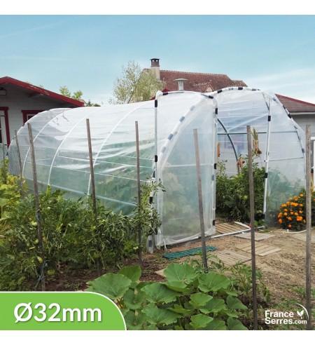 Serre de jardin bâche Semi Pro 18m²