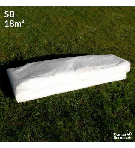 Bâche de remplacement pour serre tunnel 9m² - SB25-9