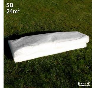 Bâche de remplacement pour serre tunnel 24m² - SB32-24