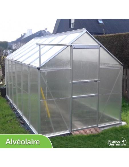 Serre de jardin Polycarbonate ALVÉOLAIRE 7,10m²
