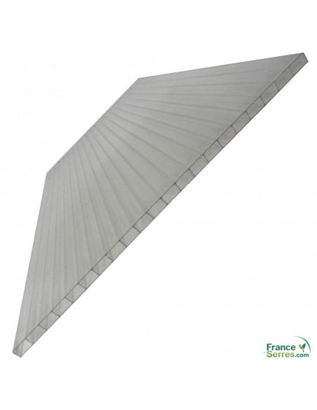 Serre 7m² panneaux polycarbonate 4mm double paroi