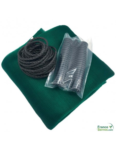 kit complet toile d'ombrage