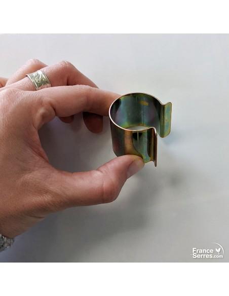 Clip acier diamètre 30mm